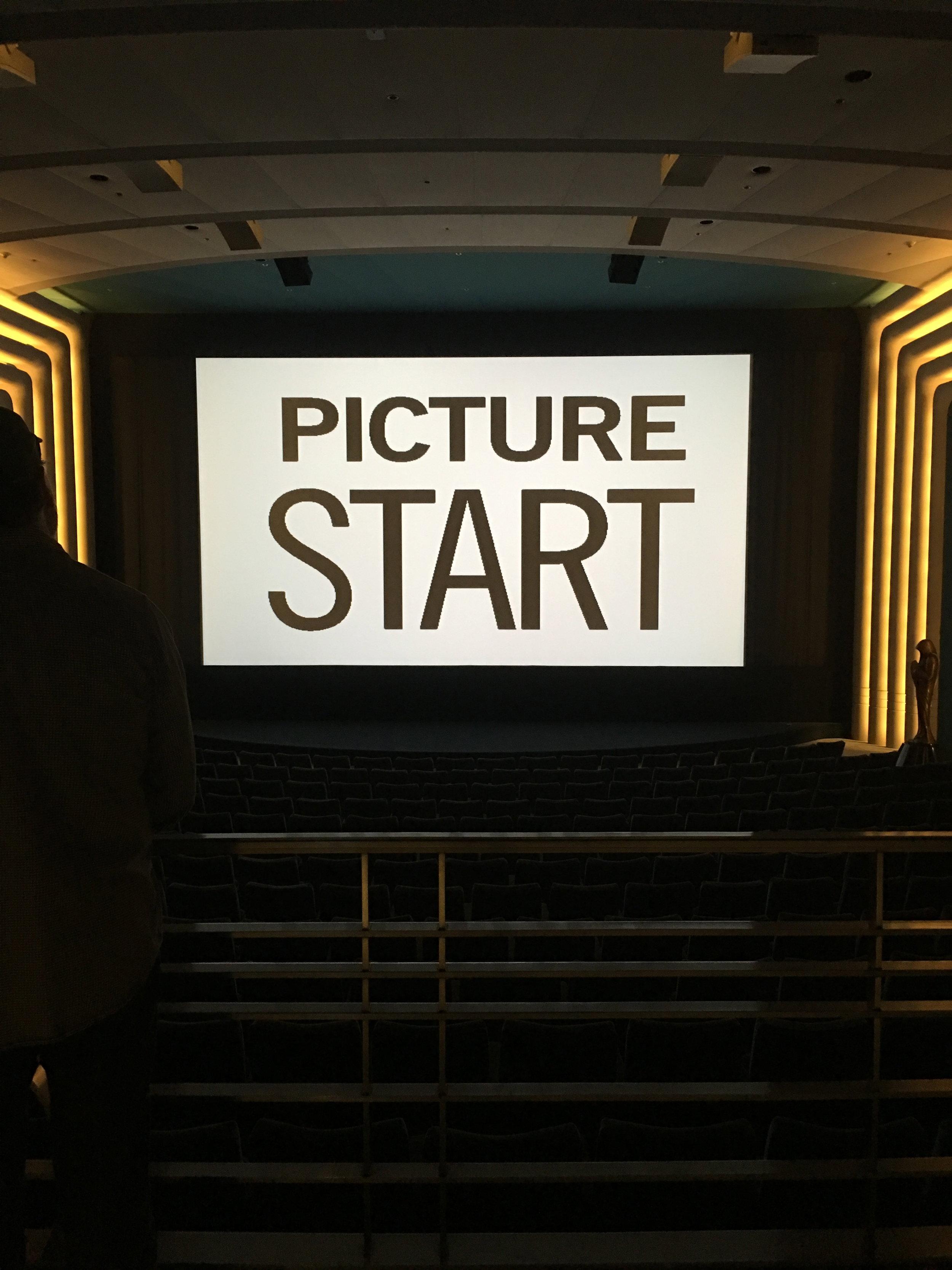 Testing on the big screen