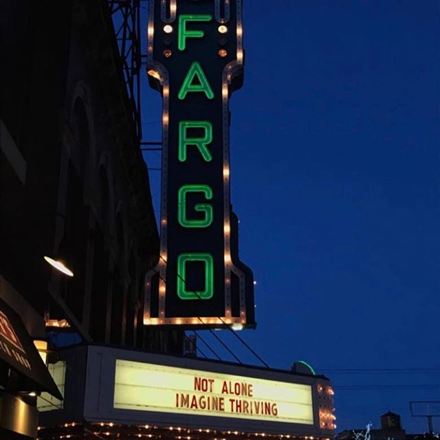 750 people came together to watch and discuss Not Alone in Fargo last night!
