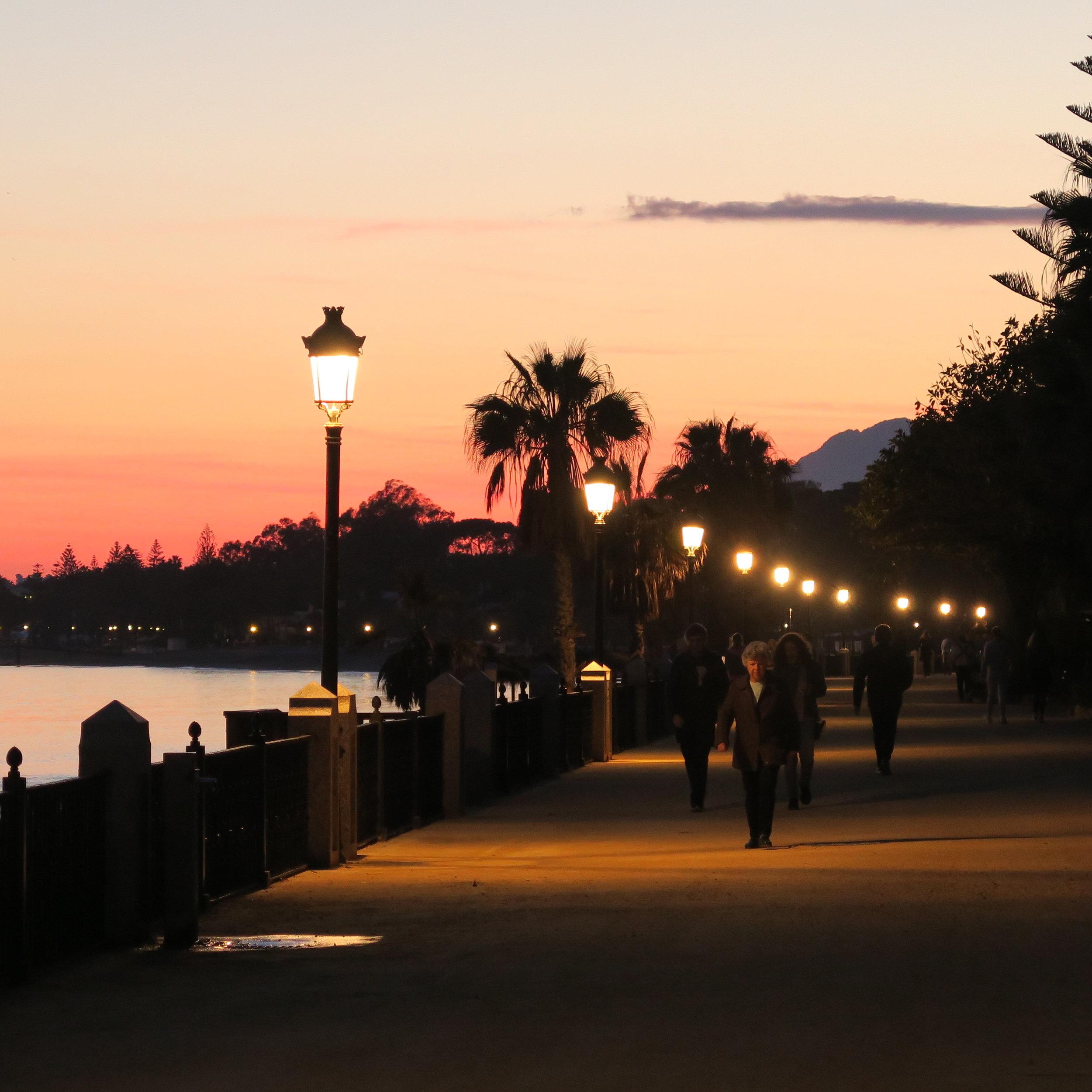 Goodnight Marbella.