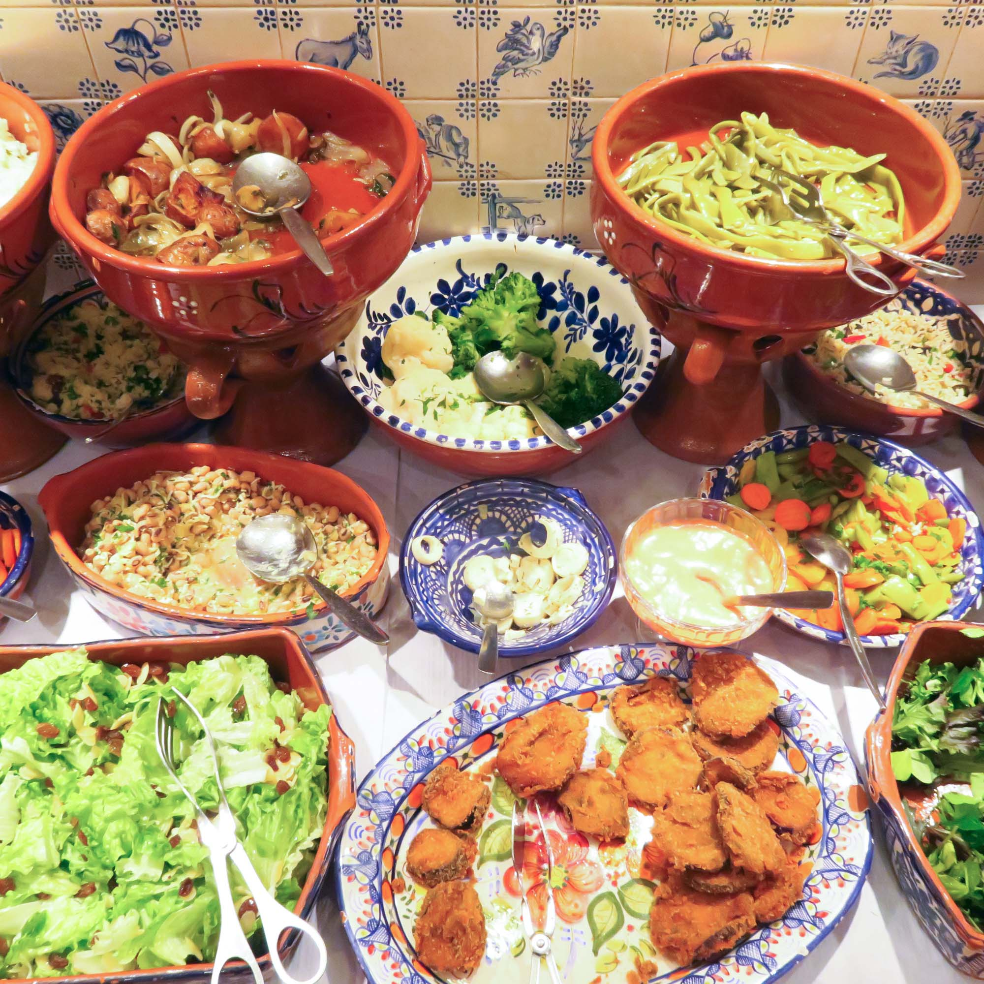 All you can eat vegan buffet? Yes bloody please!