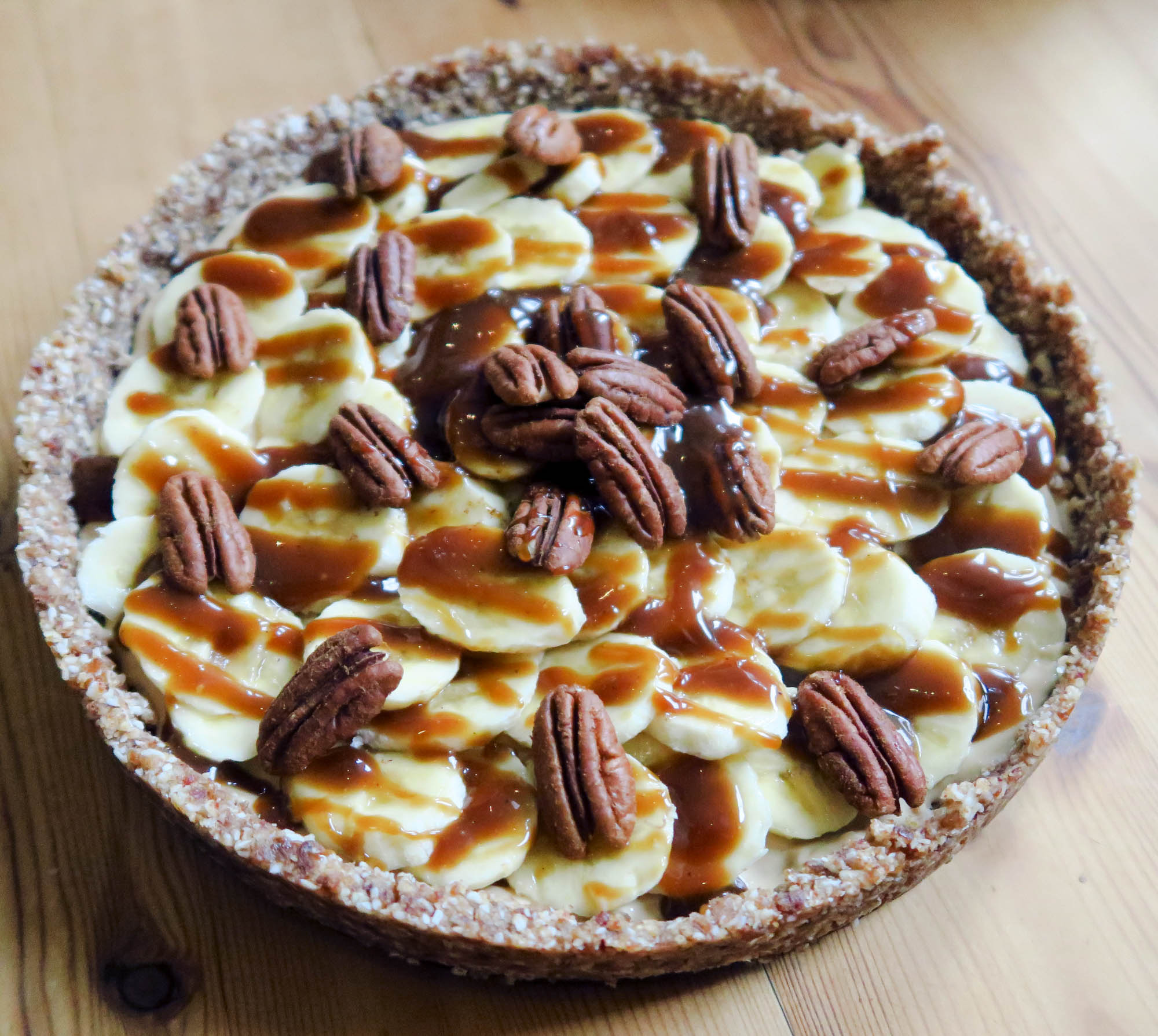 Banoffee Pie - the answer to most problems.