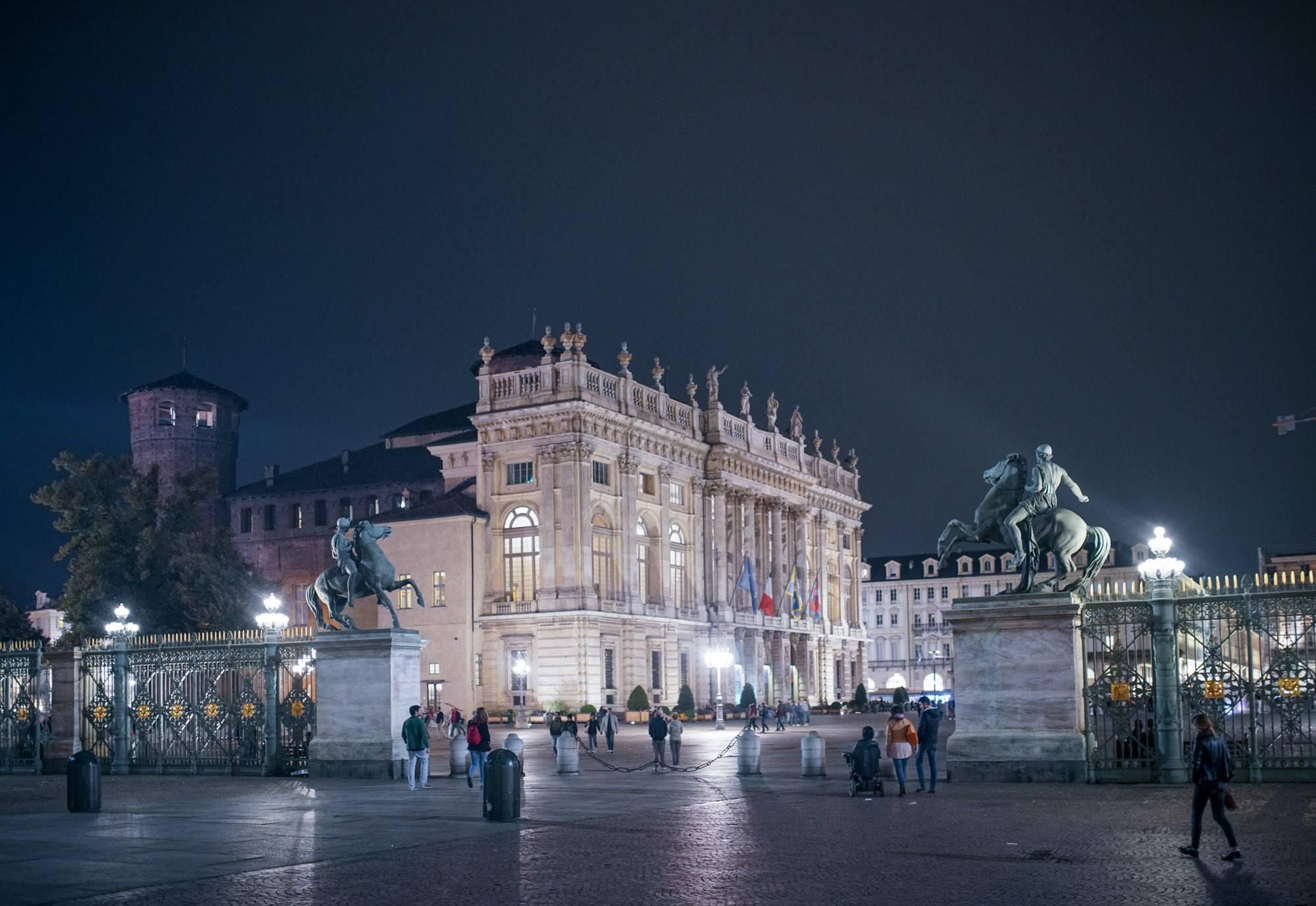 Turin by night.