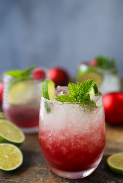 Cranberry Mojitos - don't mind if I do.
