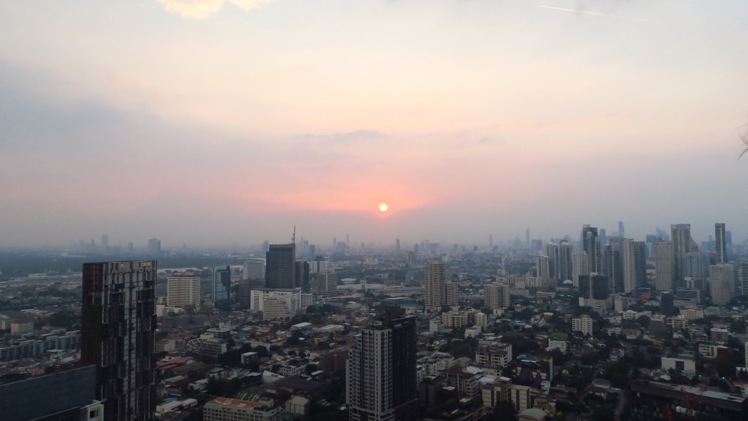 Bangkok was every bit as bonkers and beautiful as this photo depicts.