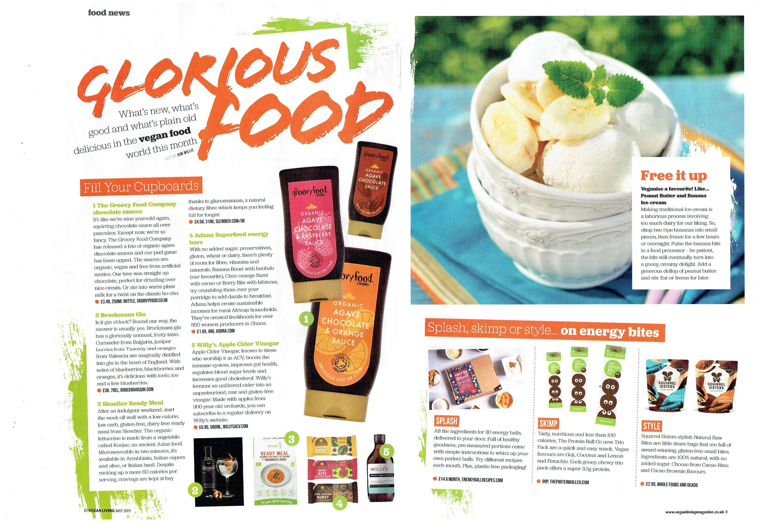 May's glorious food pages. I ate all of the above.
