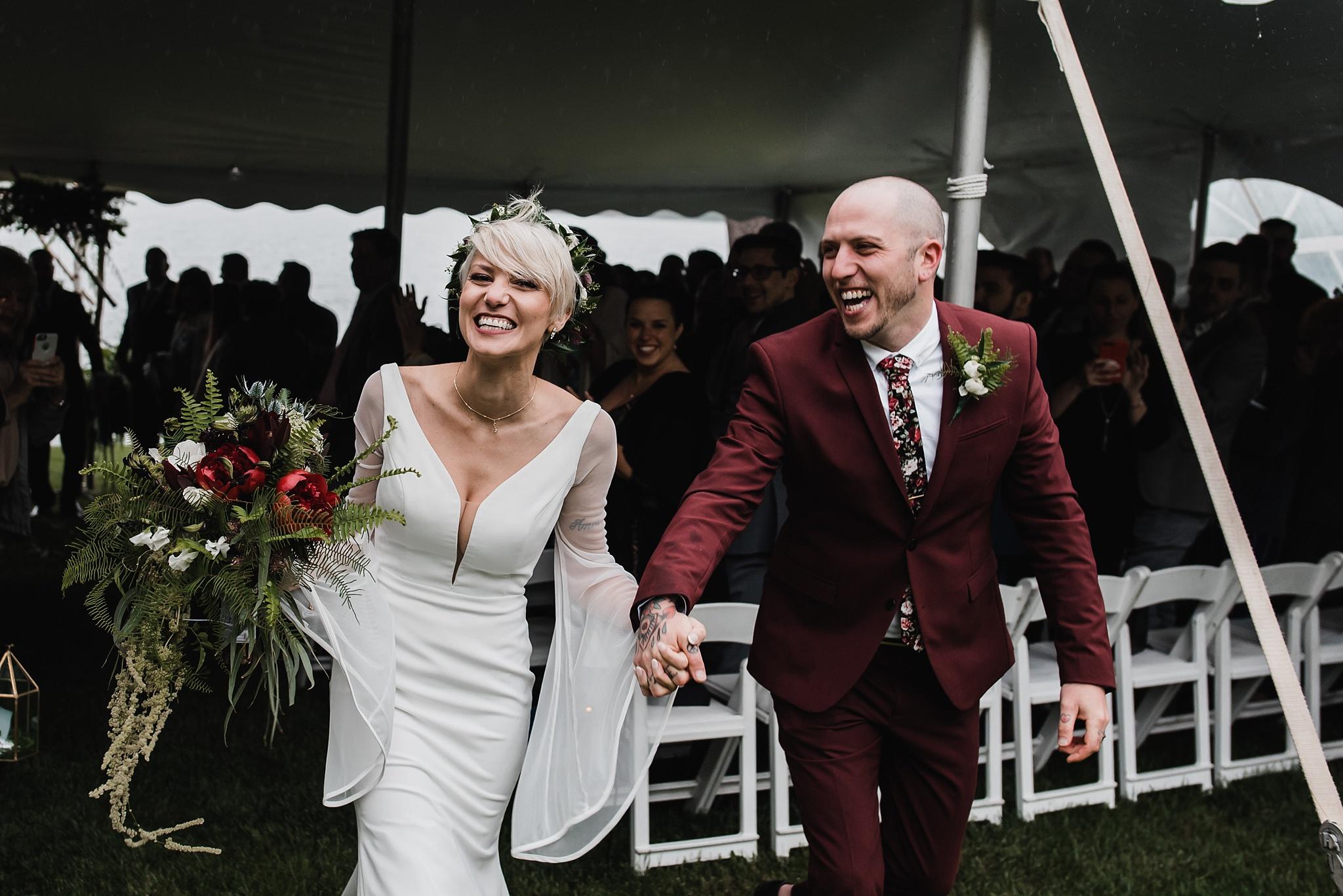 bride and groom interlaken inn