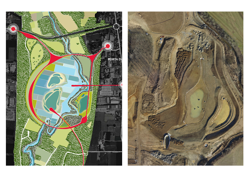 lura river flood retention basins