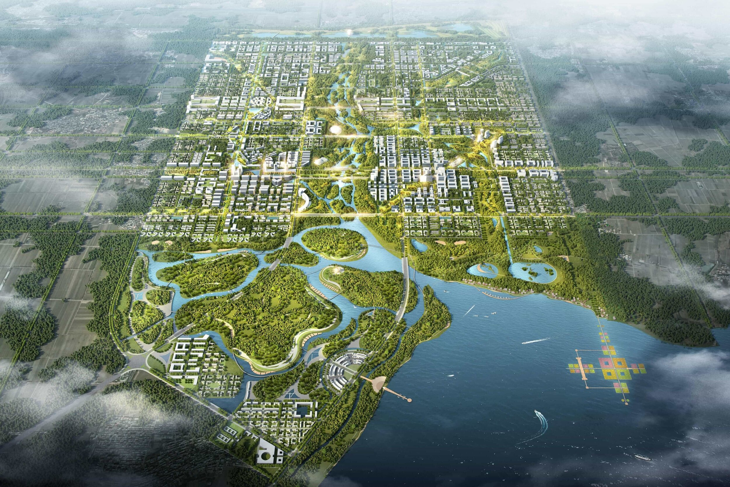 Xiongan New Area - Hebei Province, China — LAND
