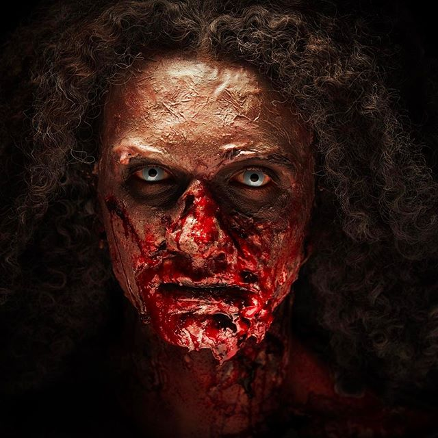 Zombie #gruesome #zombie #makeupschool #specialfx #specialfxmakeup #specialfxmakeupschool #specialfxmakeupartist #sfx #ksfx #ksfxmakeup #blood #gory #makeup