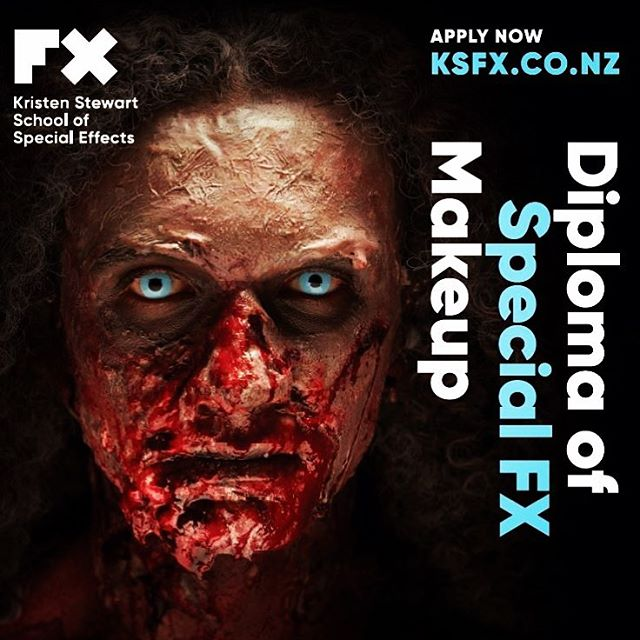 Our next Diploma Course commences on 24th July. Check out the only specialised Special FX make up school in New Zealand! #ksfxmakeup #ksfx #makeupartist #sfxmakeup #sfx #sfxmakeupartist #makeupschool #makeupschoolchristchurch #zombie #makeupeducation