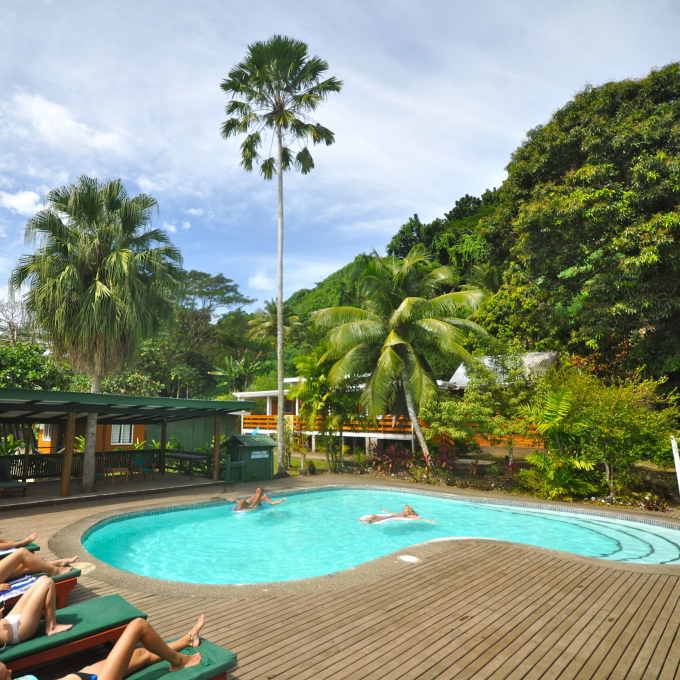 Davu Resort Pool PHOTO:dakuresort.com/