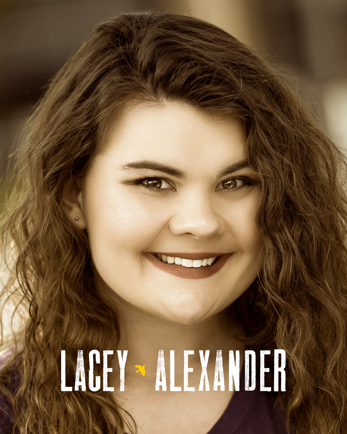 LACEY ALEXANDER  (Ensemble) is a Birmingham-based actress and playwright, and currently holds a BS in Theatre from Troy University. She most recently performed with the Birmingham Children's Theatre as Smee in  Peter Pan . Her plays have been produced by the Nylon Fusion Theatre Company in New York City, and readings of her work were presented by the Queens Theatre in New York and on the Millennium Stage at the Kennedy Center for the Arts.