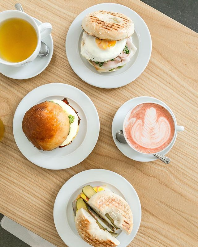 Kick start your morning and fuel up for the weekend with a breakfast sandwich.