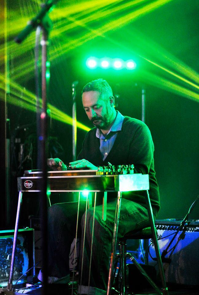 Mike Racky  (pedal steel)