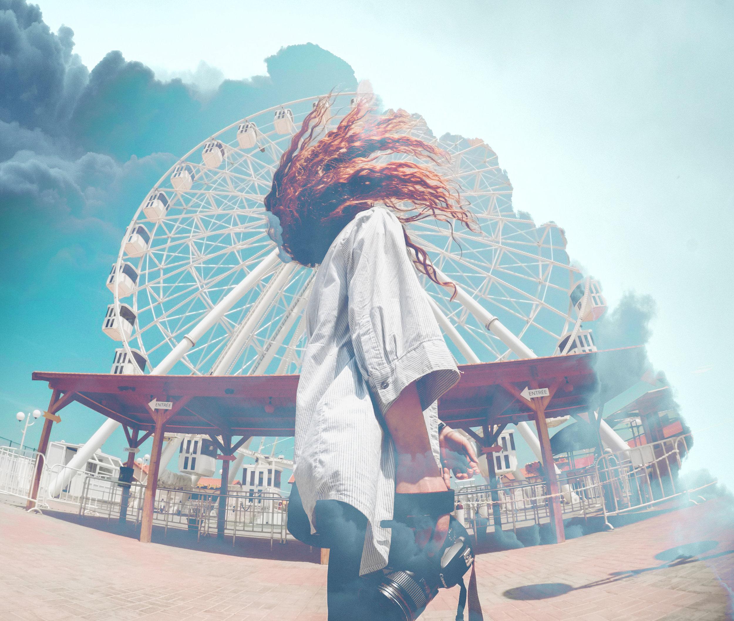 Alaysia Jackson - AVI Ferris Wheel -  Photoshop Masking Project