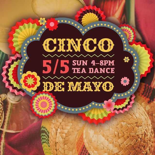 @dbarboston! Coming in SPICY at TEA DANCE! Sunday May 5th 4pm-8pm! Join us to celebrate the beauty of Mexican American culture with tequila, music, strength and all the love 🇲🇽 💚⚪️❤️