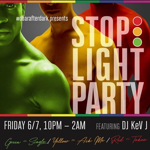 Happy PRIDE Dorchester! See you TONIGHT @10pm for the annual Stop Light Party! Wear the color that represents your relationship status: Green Single, Yellow  Ask Me, Red Taken! See you there!