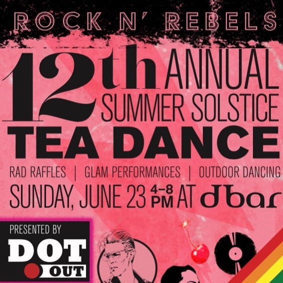 You know how we like our Tea?! HUGE!! The 12th Annual @dotout TEA DANCE takes over dbar's entire indoor and outdoor space June 23rd bringing you DJ Ranny from New York City. Raffles, Entertainment, Glam Performances, and Outdoor Daytime Dancing. 4pm-8pm! 100% of the $15 suggested door donation benefits College Bound Dorchester fund and Equality Texas! See you at 4pm! #tea #teadance #teatime #loveislove #equalityact #equality #pride #worldpride #bostonpride #bostonmagazine #lgbtq🌈 #edgemagazine #bosguy #thebostonbottom #thehub #thebull103 #dbarafterdark #dbarboston #dbar #dorchester