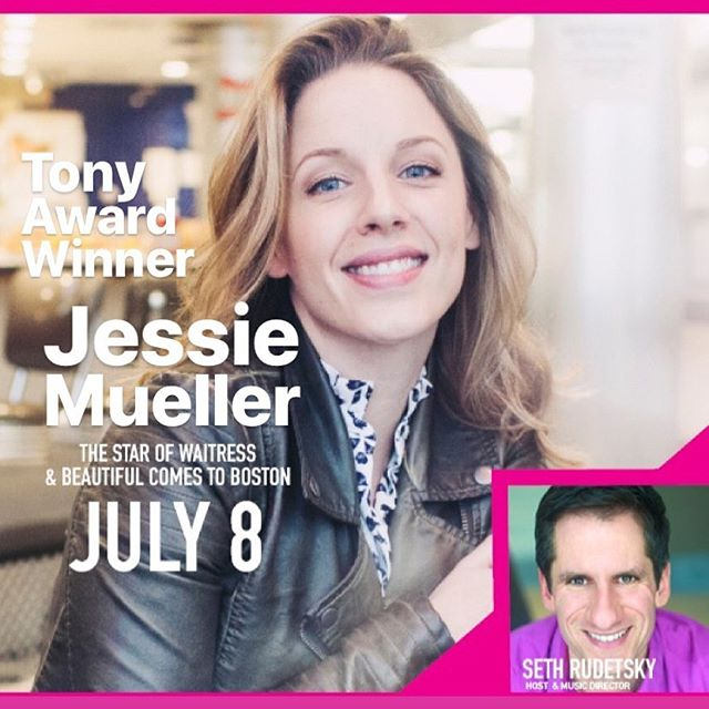 SPECIAL 'SHOW TUNE TUESDAY' ANNOUNCEMENT! June 25th! In partnership with the Emerson Colonial Theater! We have a special ticket contest giveaway this Show Tune Tuesday, for one pair of tickets to see Tony Award Winning actress Jessie Mueller! Come down and get your hands on these tickets! #jessiemueller #colonialtheaterboston #showtunetuesday #bostonbroadway #dbarafterdark