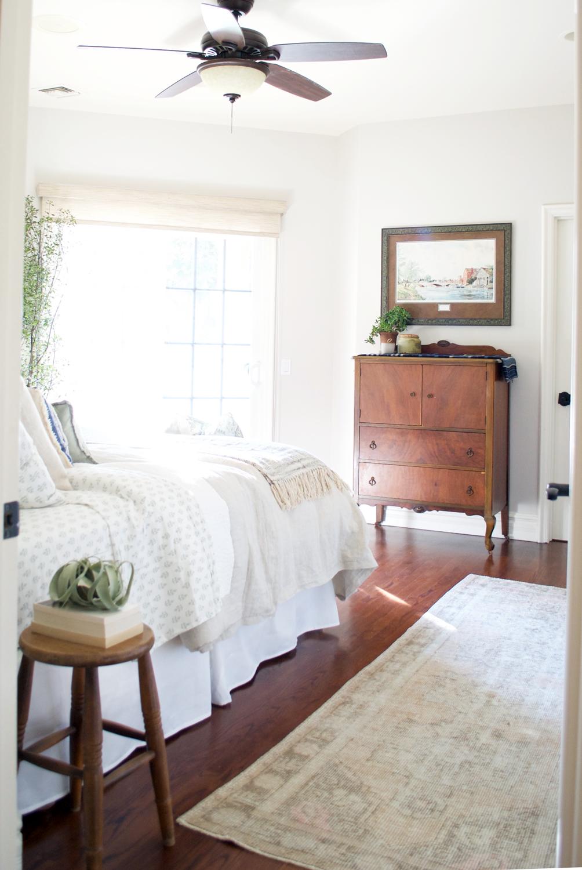 cozy guest bedroom -