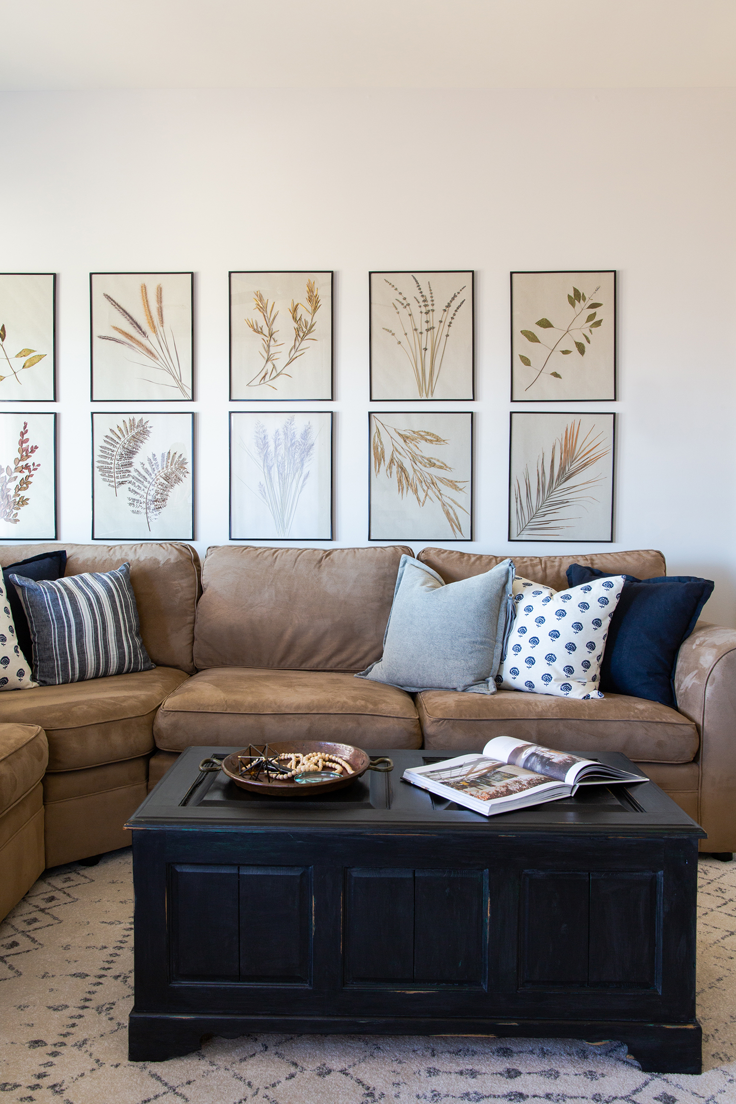Lounge refresh interior design project by Sundling Studio in Southern California