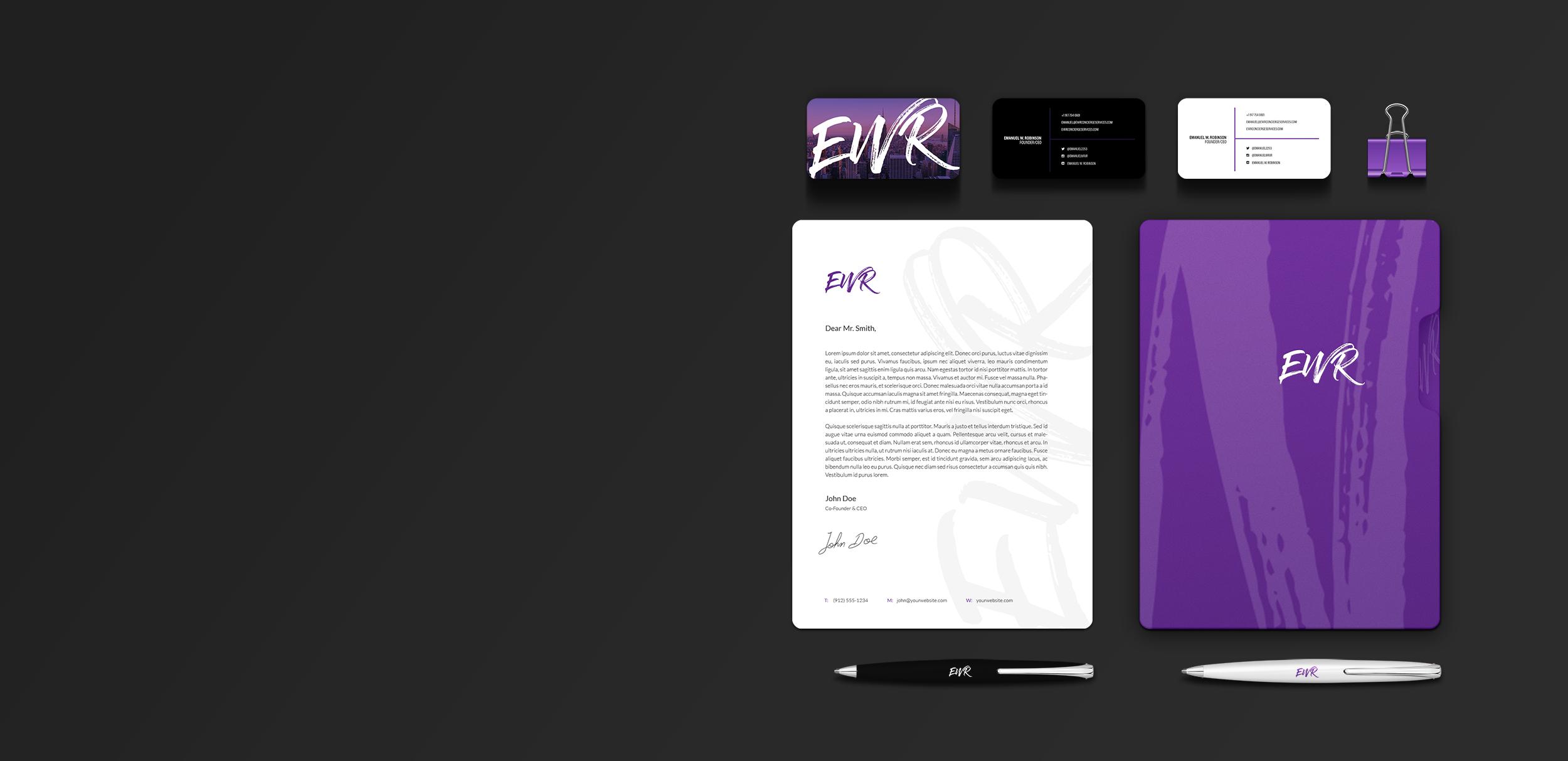 EWR - Branding / Web