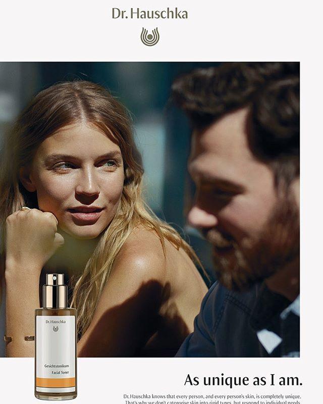 #drhauschka #campaign #2019 . . . . . . . . . . . . #advertising #portrait #couple #cosmetics #organic #losangeles #beauty #family #skincare #beautiful @klaus_stiegemeyer
