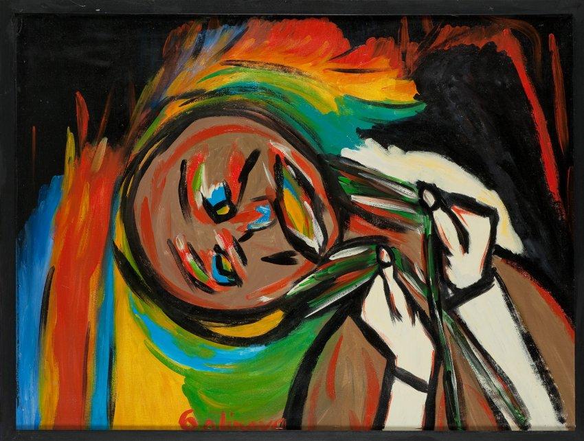 Alexandra Galinova, The Oppressed Human, part of Prinzhorn Collection