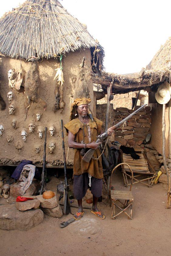 A Dogon hunter in Begnimato, Mali.