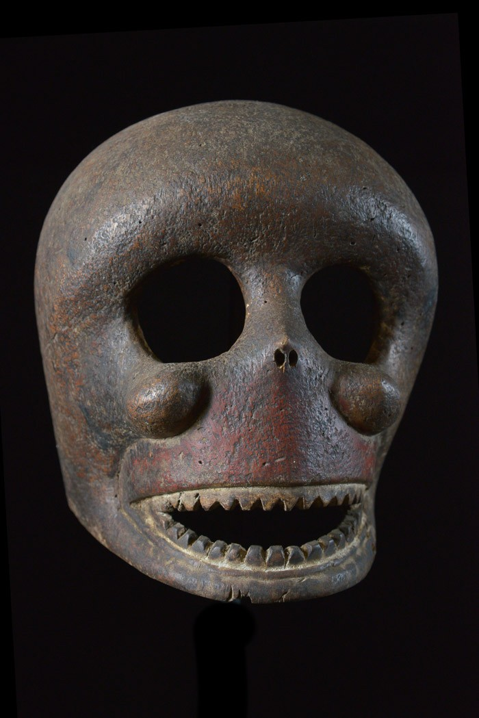 Secret society mask of the Ibibio Anang.