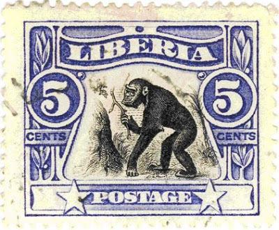 A Liberian postage stamp featuring the koola-kamba.