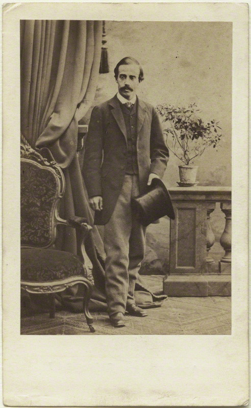 Paul Du Chaillu in London, 1860s. Courtesy of National Portrait Gallery, London.