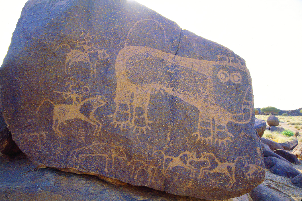 More Niger rock art discovered in the desert.
