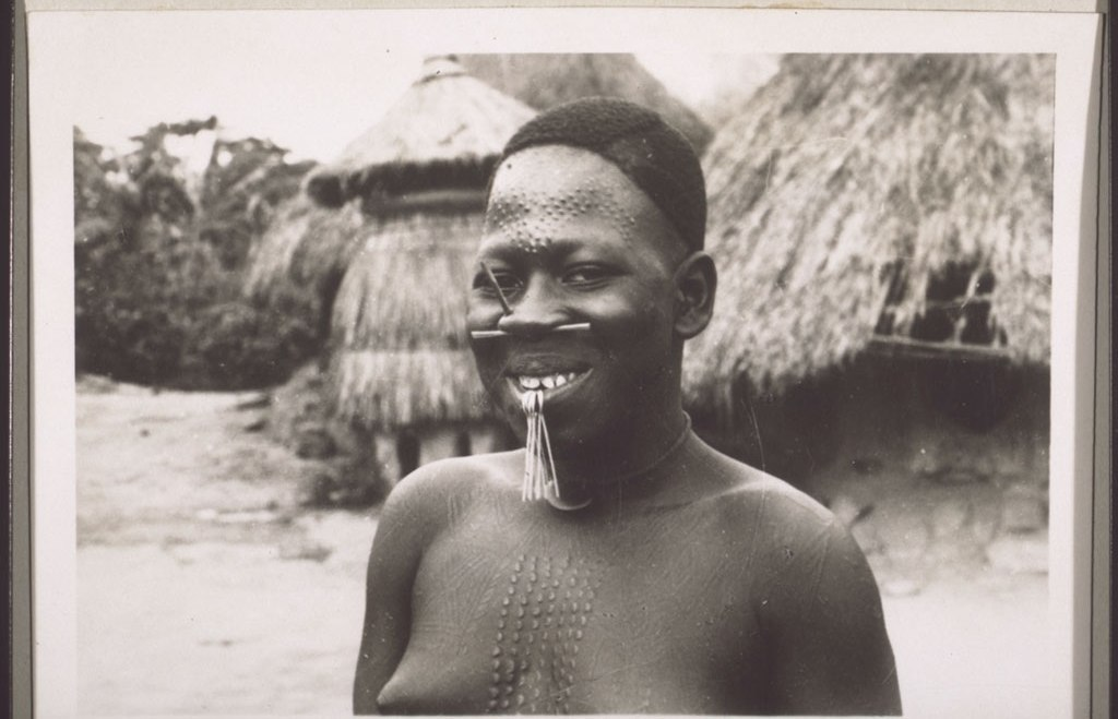 A Mbembe woman in the 1930s.