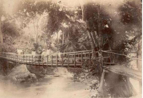 Above: a photo taken by explorer Henry Morton Stanley.