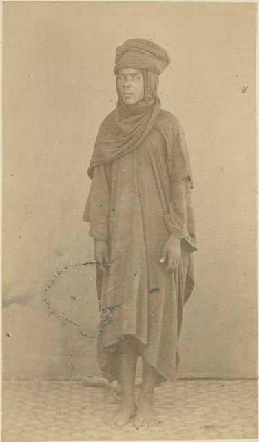 An Ashante doctor in 1874.