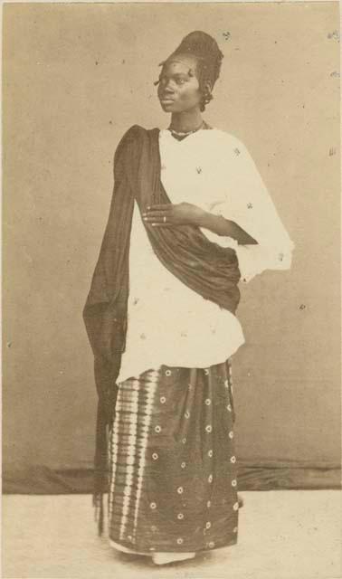A Mandingo woman in 1879.