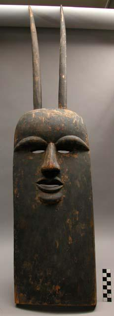 A Ngi cult mask from forest region of south Cameroon.