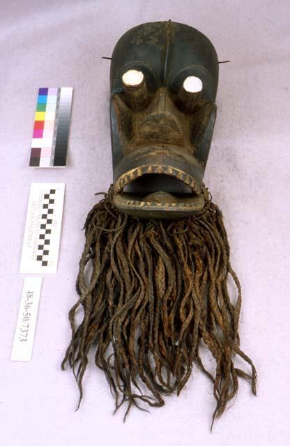 "A ""Pia Se"" mask of the Kra people of Liberia."