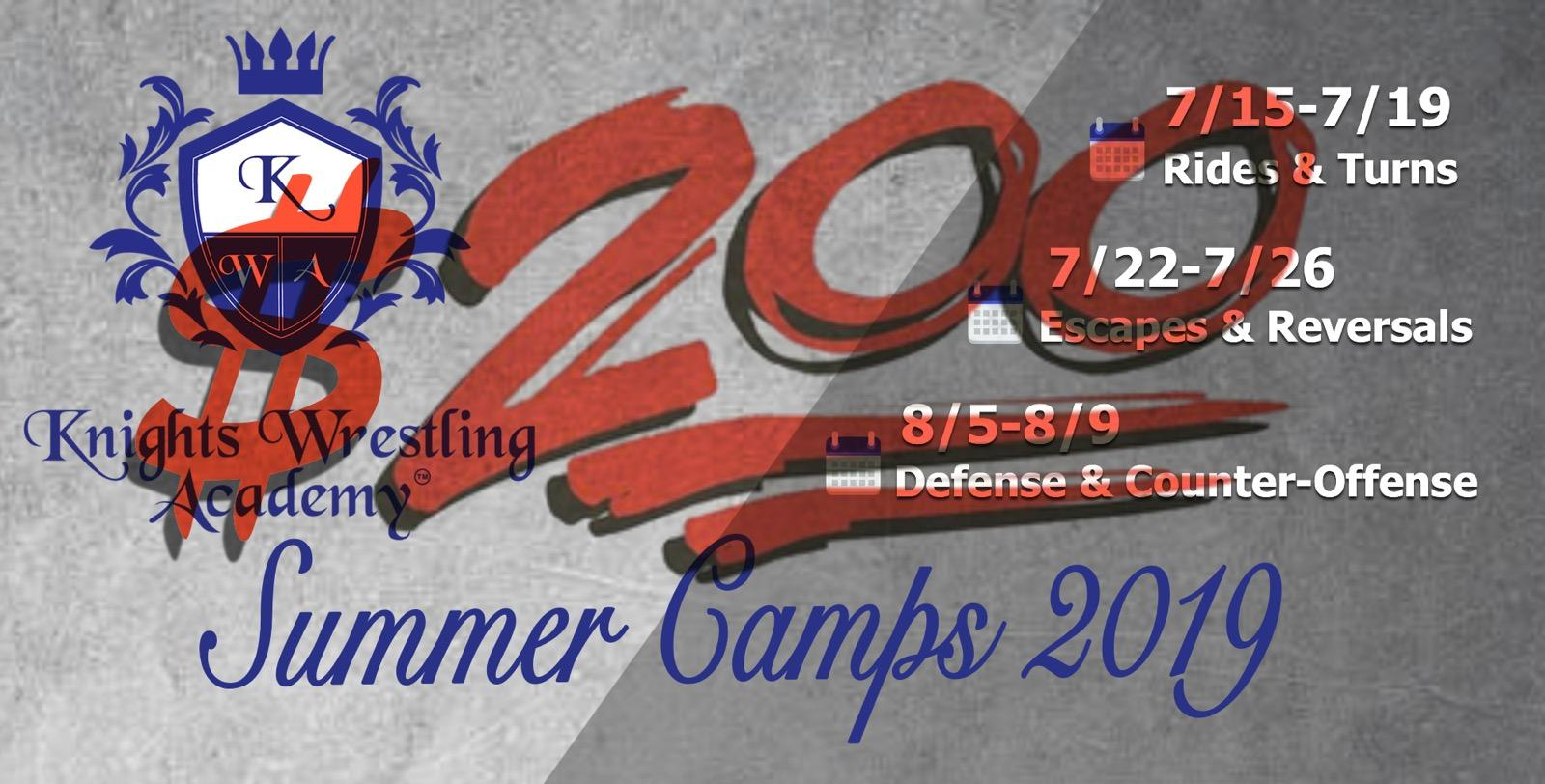 #GetKnighted this Summer! - Join the KWA for some fun on the mat with high-level, technical instruction!Recommended Ages: 9 Years & Up