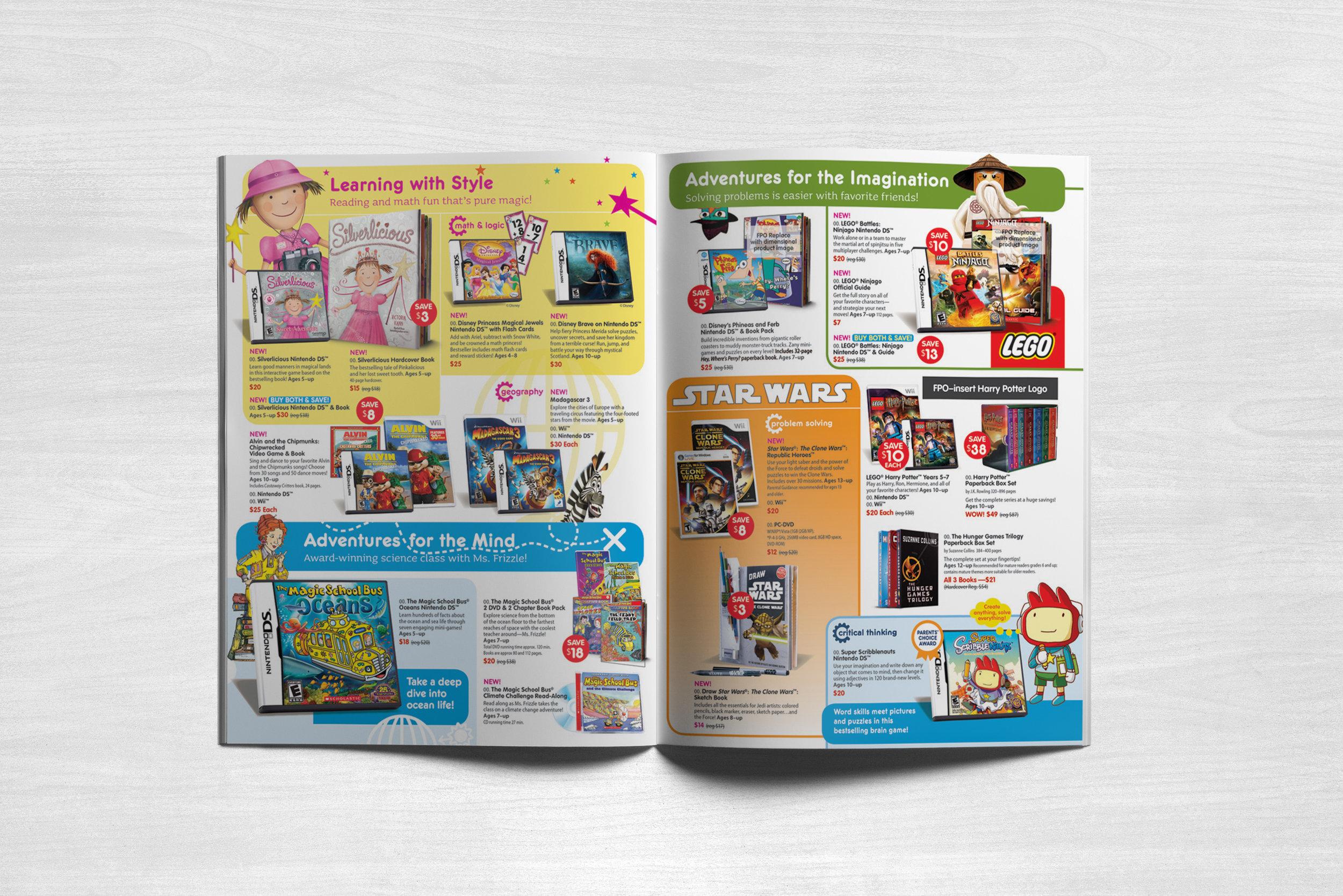 Scholastic Click! Club News Flyer