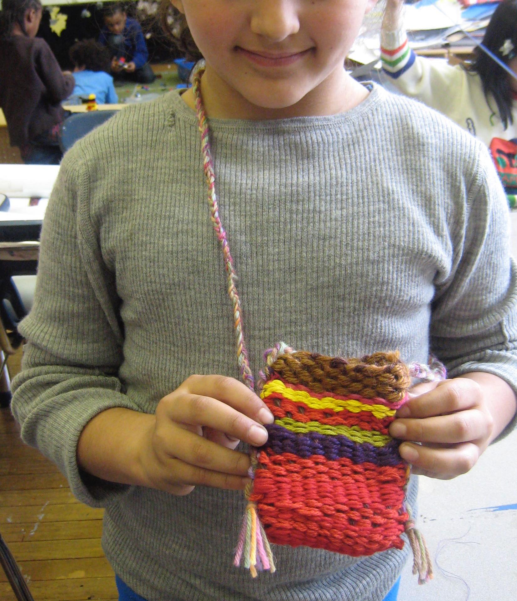 Weaving Work / 3rd Grade