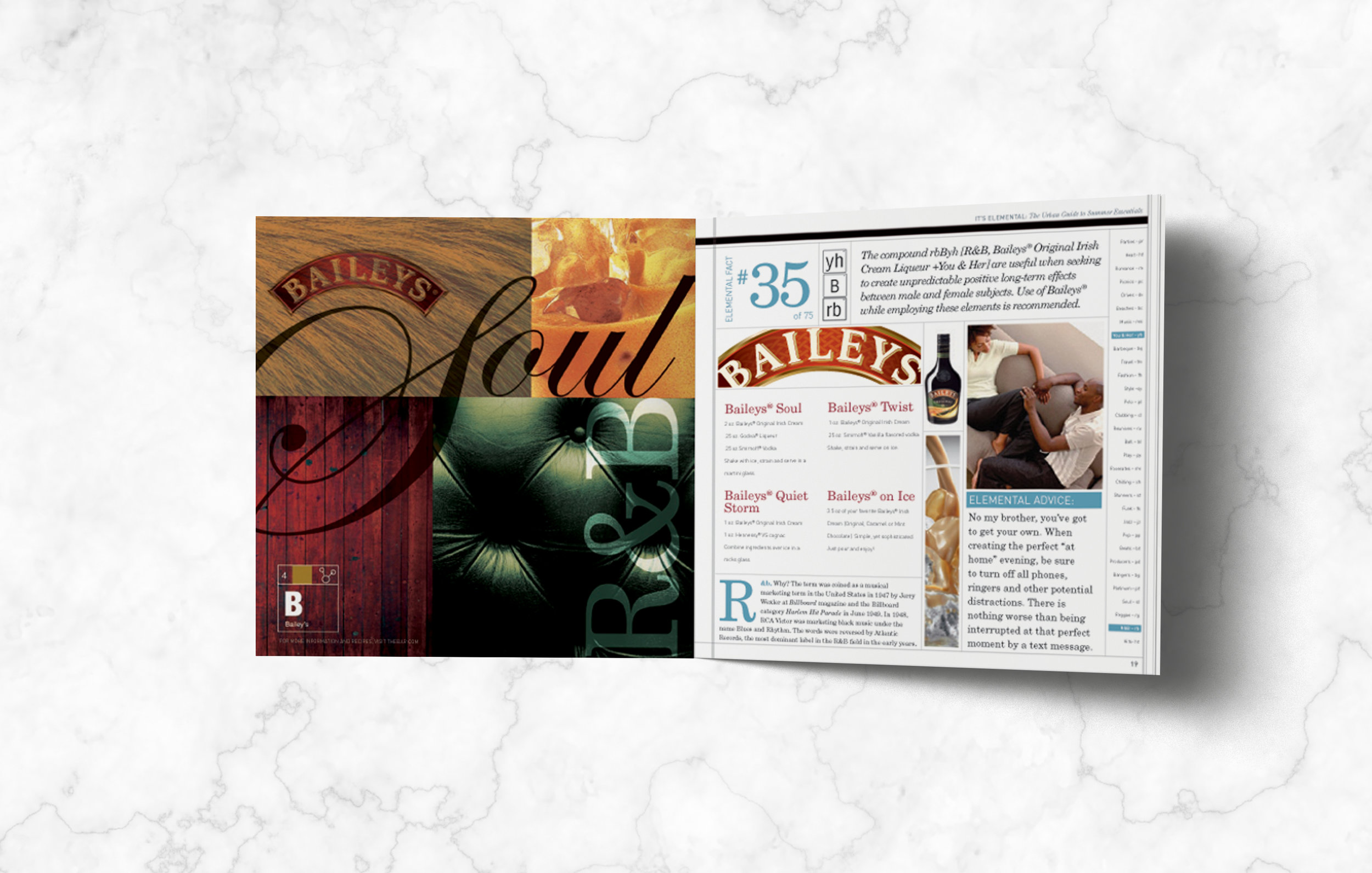 Diageo Mini Brand Book Interior