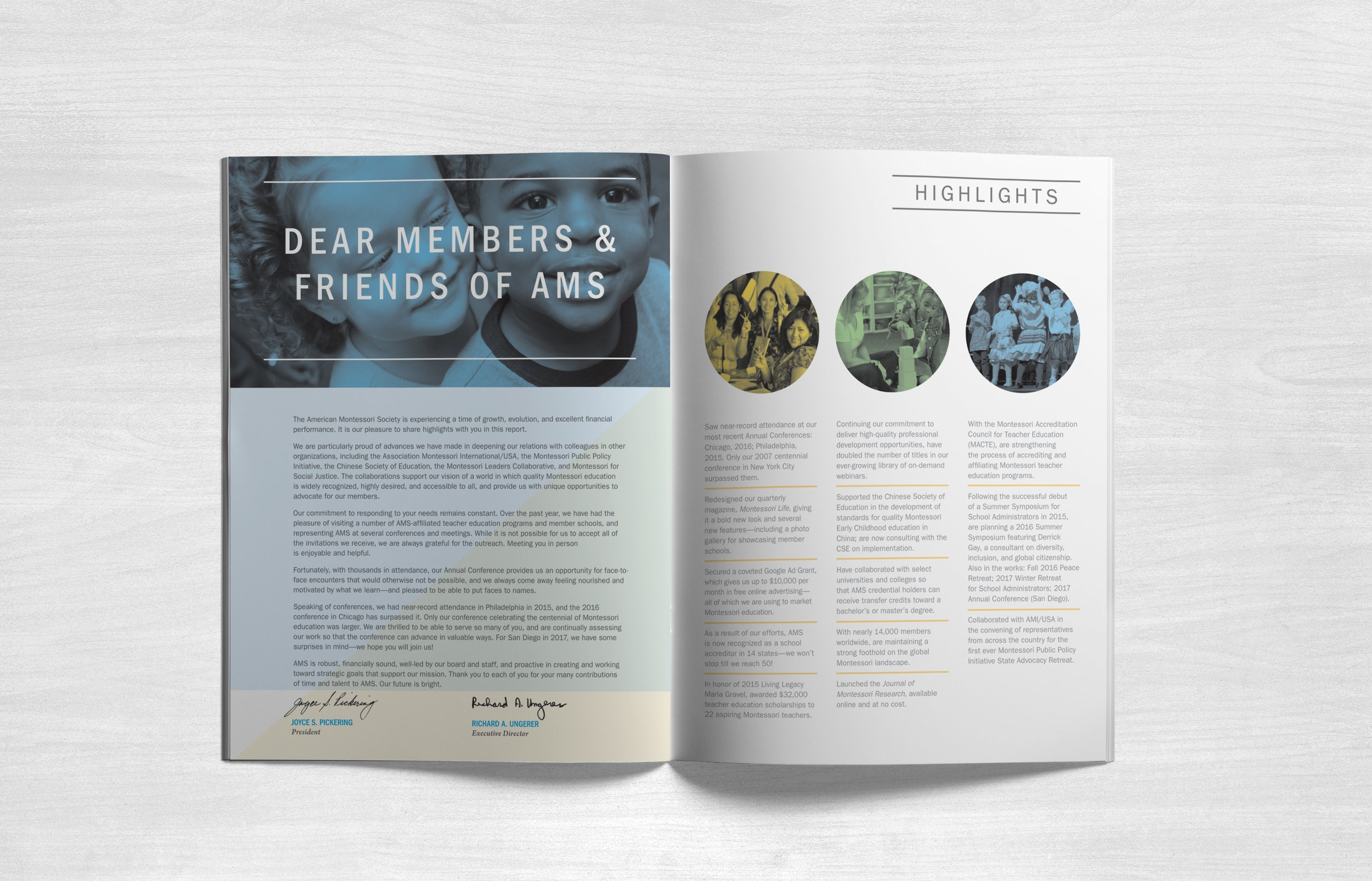 AMS FY 2015 Annual Report Interior