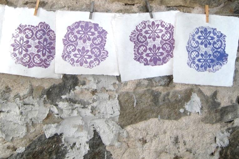 Legacy Lace Prints / Printmaking
