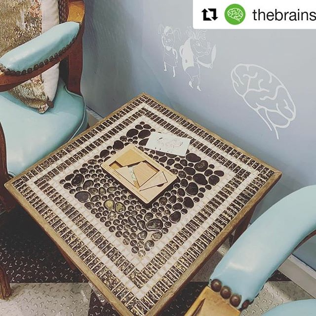 We love @thebrainshoppe come play with this brain teaser next time you wait in our shop and then walk down to the shop, just a few doors down! ・・・ ✂️+🧠= Puzzle while you wait at our favorite salon on the Commons! . . . #downtownithaca #ithacacommons #ithacany #shoplocal #smallbiz @hareandbristle