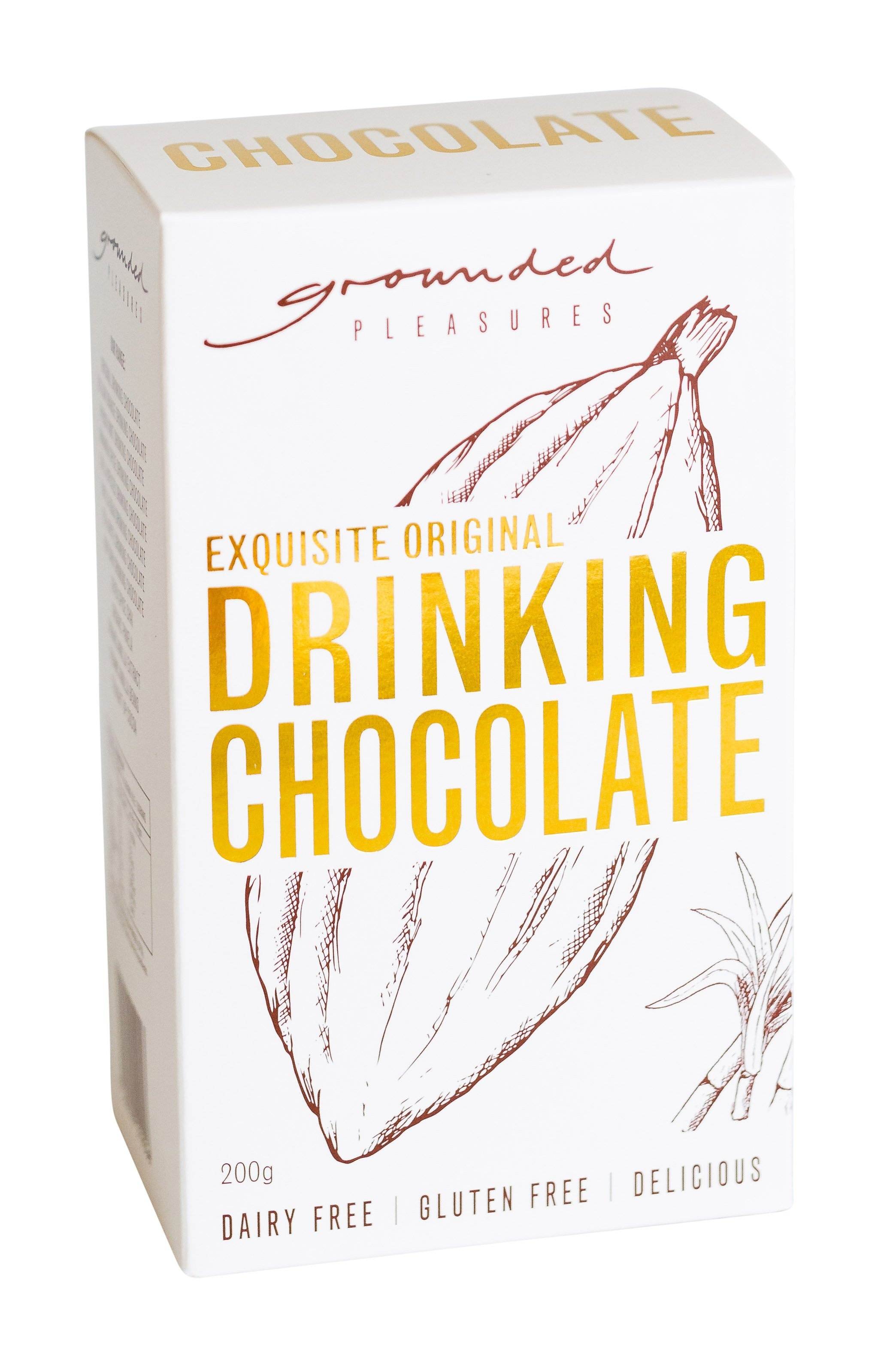 Copy of Grounded Pleasures - Original Drinking Chocolate