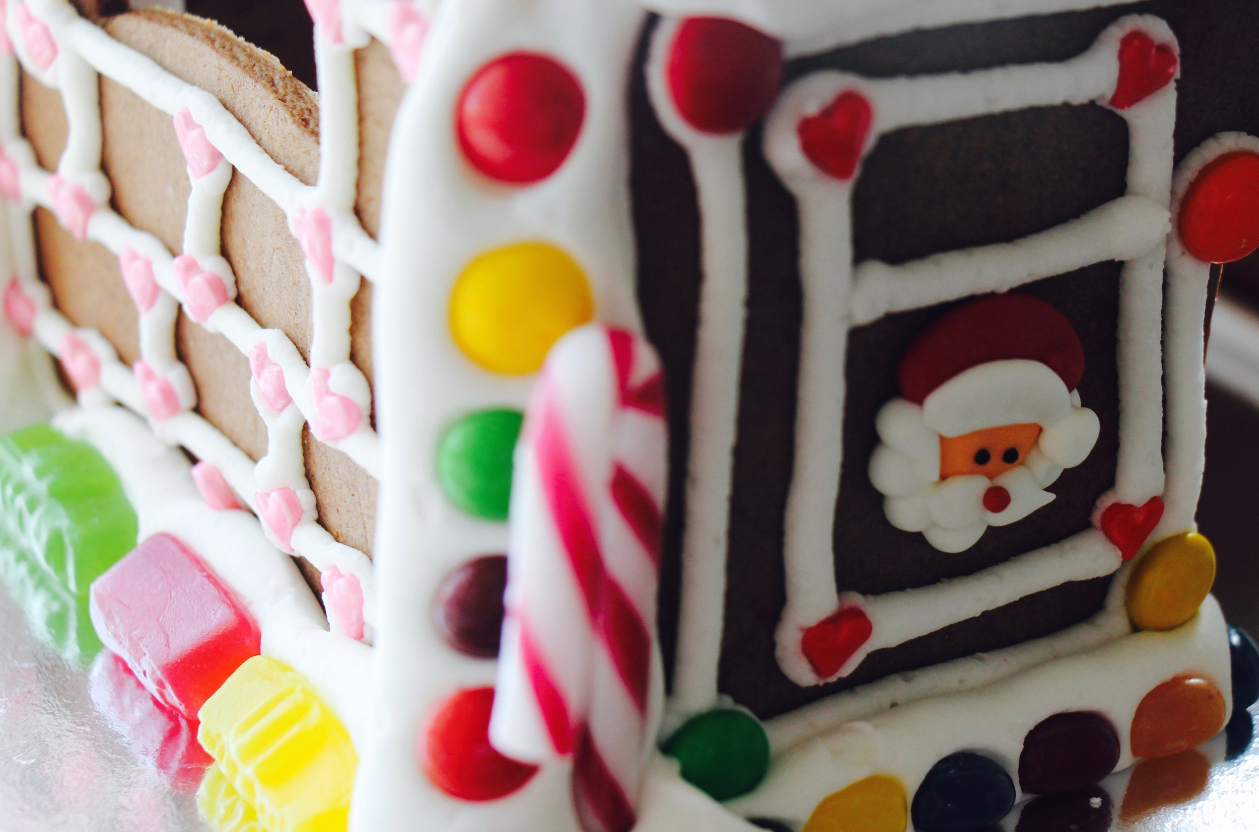 A close up of the details ... Santa's favourite window!