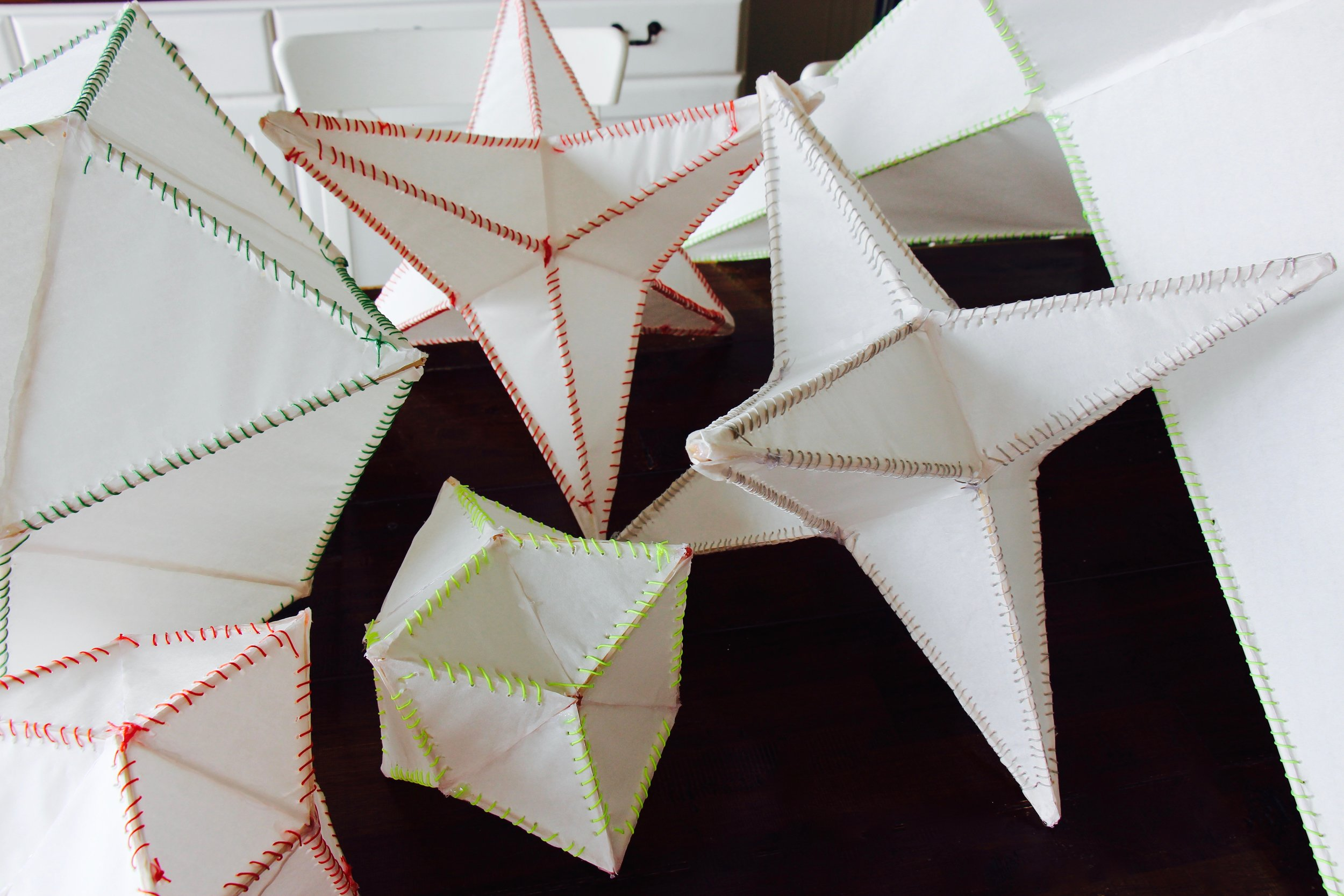 condensed and pointed stars ... beautiful geometry