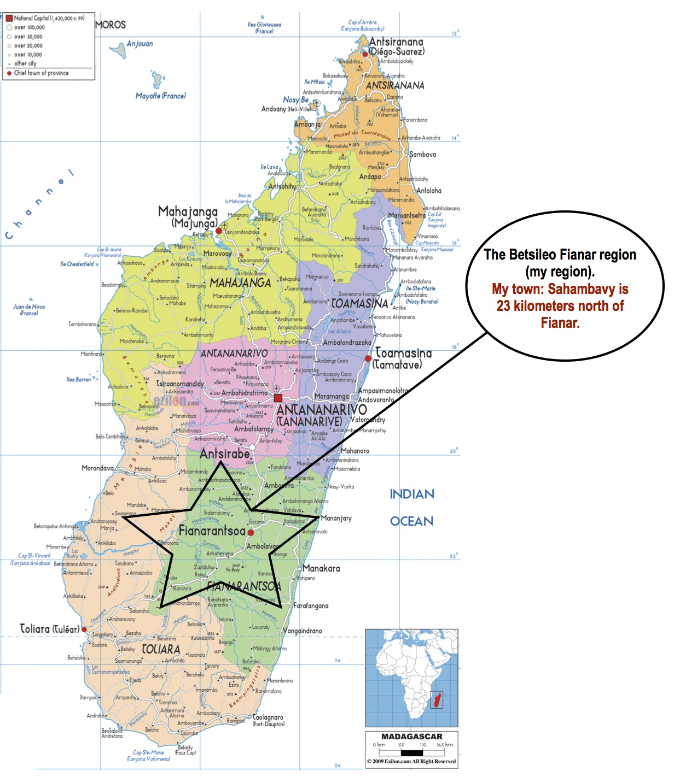Map of Madagascar!